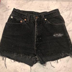 Levi 512 jean shorts